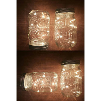 Special Price: 4 Firefly Jar Lights