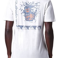 Quiksilver Warpaint Head T-Shirt - Mens Tee - Off White