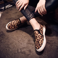 Women Korean Style Slip On Comfort Casual Shoes Sneakers