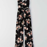 AEO Cutout Jumpsuit, Black