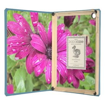 Droplets on Purple Daisies Photography iPad Air Cover
