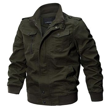 Military Men Winter Cotton Pilot's Jacket