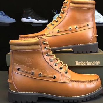 x1love  Timberland With velvet Wool warming Men's Shoes