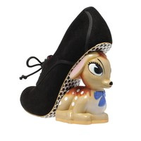 Irregular Choice 'Fawn', black