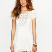 Free People Tribal Lace Tunic at Free People Clothing Boutique