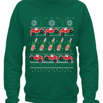 FUGLY XMAS SWEATER FOR JEEP LOVERS uglyjeep