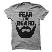 Fear The Beard TShirt Funny Shirt Mens Tshirt Tee