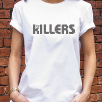 The Killers TShirt retro style logo music band rock mens womans T-shirt L538