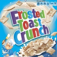 Frosted Toast Crunch Cereal, General Mills, 12.3oz (4 Boxes)