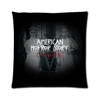 American Horror Story Coven Normal People Scare Me 18'' x 18'' Pilow Case Two Sides