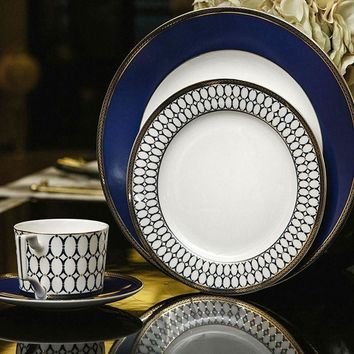 Bone China western dinnerware complete set
