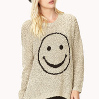 Happy Marled Sweater