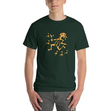 WSP Note Eater Short-Sleeve T-Shirt Yellow Graphic