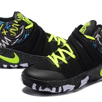 Nike Kyrie Irving 2 Black/Fluorescent Green