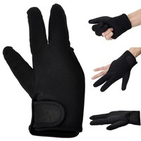 Heat Resistant Gloves Hair Tool Styling Curling Perming Curling Wand Flat Iron 3 Finger
