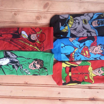Dc Comics boys socks