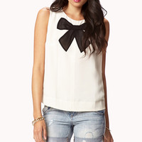 Georgette Bow Top