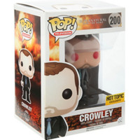 Funko Supernatural Pop! Television Crowley Vinyl Figure Hot Topic Exclusive