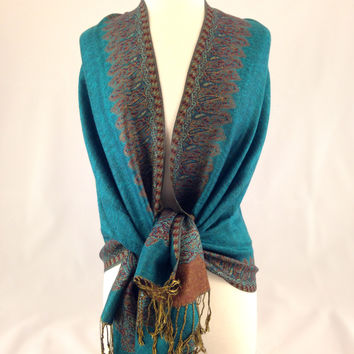 Forget Me Not Pashmina