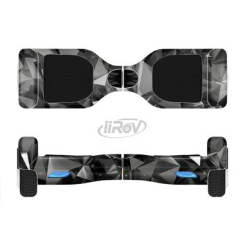 The Black 3D Diamond Surface Full Body Skin Set for the Smart Drifting SuperCharged Transportation iiRov
