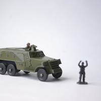 Vintage Soviet Toys/ Military Collectible Toys/ Diecast Toys/ Tanks, Trucks, Armoured vehicles/ ca. 1960