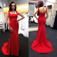 Star Sexy Slim Ball Gown One Piece Dress [9324581764]