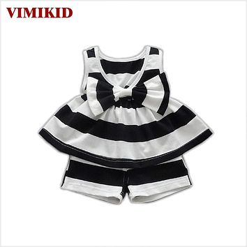 Nice kids designer kids Toddler Kids Baby Girls Outfits Clothes Dress+Short