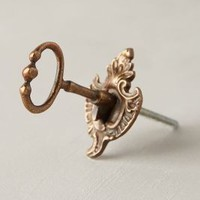 Turnlock Knob by Anthropologie Bronze One Size Knobs