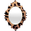 Ballack Art House Leopard 1986 Baroque Mirror