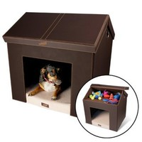 Pet Haven Indoor Folding Dog House | www.hayneedle.com