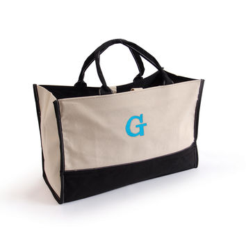 Personalized Metro Tote Bag-Embroidered for your Bridesmaid