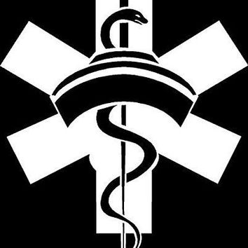 Nurse Vinyl Car Decal
