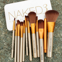 12 Pieces NK3 Makeup Brushes