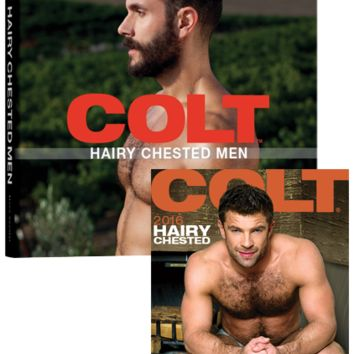 Hairy Chested Men Book and 2016 Hairy Chested Men Calendar Bundle