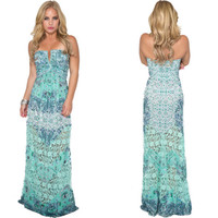 Pionner Maxi Dress By SKY