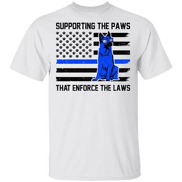 Supporting The Paws That Enforce The Laws Police Paw Dog