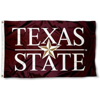Texas State Bobcats: University Flag; 3'x5'