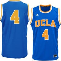 No. 4 UCLA Bruins adidas Replica Basketball Jersey – True Blue