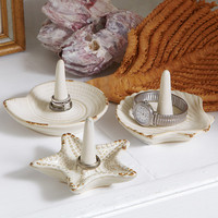 3-Piece Coastal Ring Holder Set