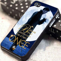 Once Upon a Time Captain Hook Believe customized for iphone 4/4s/5/5s/5c, samsung galaxy s3/s4, and ipod touch 4/5