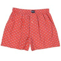 Cotton Club Boxers in Deep Sea Coral by The Southern Shirt Co.