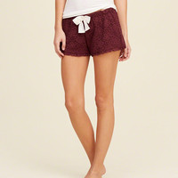 Lace Sleep Shorts