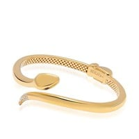 Women's Gold Snake Bangle