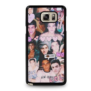DOLAN TWINS COLLAGE Samsung Galaxy Note 5 Case