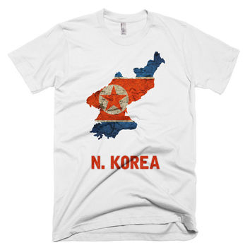 The North Korea Flag T-Shirt (fitted)