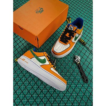 Dragon Ball Z X Nike Air Force 1 Low Fashion Shoes-1