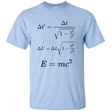 DCCKJY1 Einstein Special Relativity Equations Shirt