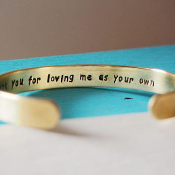 Create Your Personalized Custom Cuff for Bridesmaids Gifts / Maid of Honor Gift / Mother of the Bride Gift / Mother of the Groom Gift