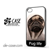 New Design Funny Hilarious Pug Life Parody Fans For Iphone 4 Iphone 4S Case Phone Case Gift Present