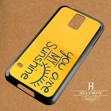 You Are My Sunshine Cut It Out Samsung Galaxy S3 S4 S5 S6 S6 Edge Case | Galaxy Note 3 4 Case